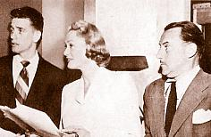 Richard Crenna, Eve Arden, and Gale Gordon