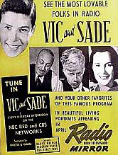 Promotion for Vic & Sade