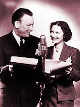 Fred Allen and his wife Portland Hoffa